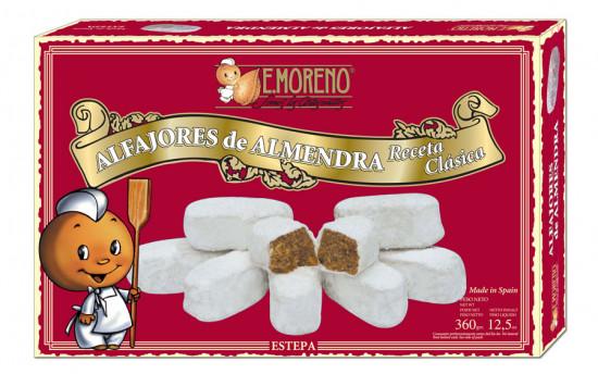 Alfajores aux amandes D.O. ESTEPA E.Moreno