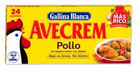 Avecrem, pollo, Gallina Blanca
