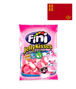 Bonbons Jelly fraise sucrés