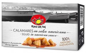 Calamars en sauce Américaine