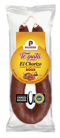 Lot de Chorizo Fort et Doux «Palacios» Te Gusta