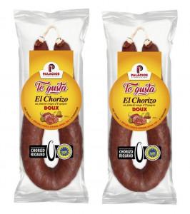 Lot de Chorizo «Palacios - Te Gusta» Doux