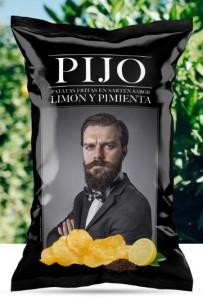 Chips de Murcia au citron et poivre Pijo