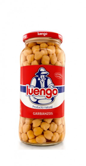 Pois chiches cuits extra Luengo