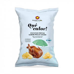 Chips Que Calor Saveurs poulet au citron