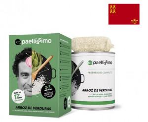 Kit Paellissimo riz aux légumes