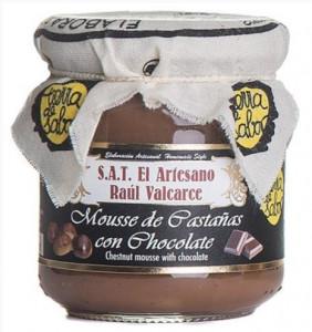 Mousse de châtaigne et chocolat