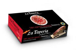 Coffret Noel Mini jambon Serrano «Reserva» La Taperia