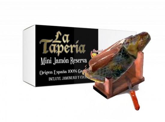 Coffret mini Jambon Serrano «Reserva» La Taperia