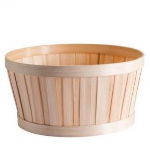 Panier rond bambou naturel ø 25 cm