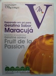Gélatine fruit de la passion
