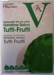 Gélatine tutti frutti