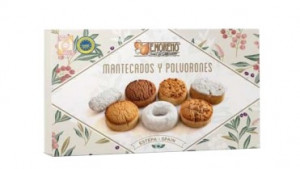 Assortiments Mantecados et Polvorones Traditionnels 300g