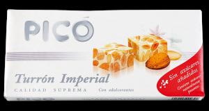 Turron imperial sans sucres ajoutés