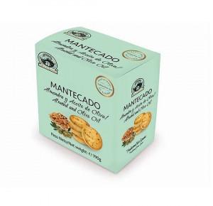 Mantecado amandes et huile d'olive