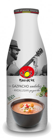 Gazpacho & accompagnements