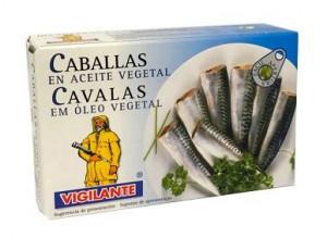 Caballa à l'huile végétale