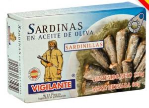 Sardinillas à l'huile d'olive