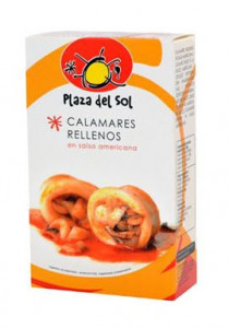 Calamars «Chipirones Rellenos» en sauce Américaine