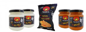 Chips Tradition et ses sauces
