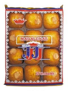 Madeleines Carrées Nature «4J»