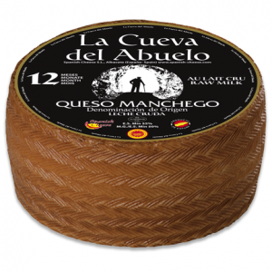 Fromage IGP Manchego « Cueva del Abuelo » Réserve
