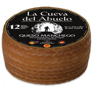 Fromage IGP Manchego «Cueva del Abuelo» Réserve