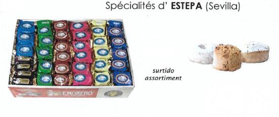 Assortiments Mantecados et Polvorones Tradicionnels E.Moreno