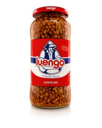 Lentilles cuites extra Luengo