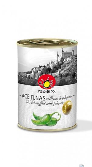 Olives Farcies au Jalapeño