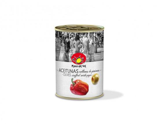 Olives Farcies au Poivron