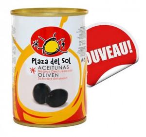 Olives Noires dénoyautées cacareña