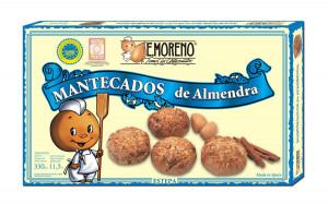 Mantecados aux amandes