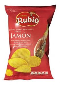 Chips ondulées au Jambon