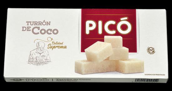 Turron de Coco Pico 200g
