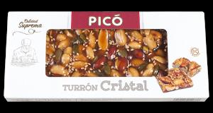 Turron Cristal aux fruits secs Pico 150g
