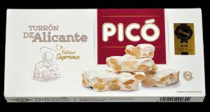 Turron Dur d'Alicante «Suprema» PICO 300 grammes